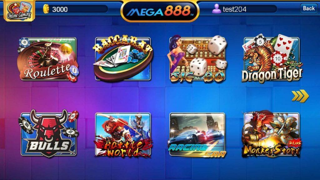 Slot Mega888