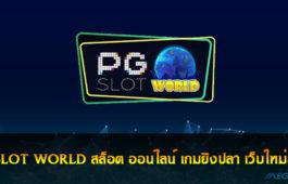PG SLOT WORLD