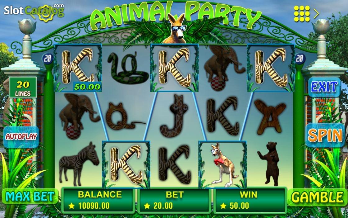 Animal-Party-รีวิวเกมสล็อต