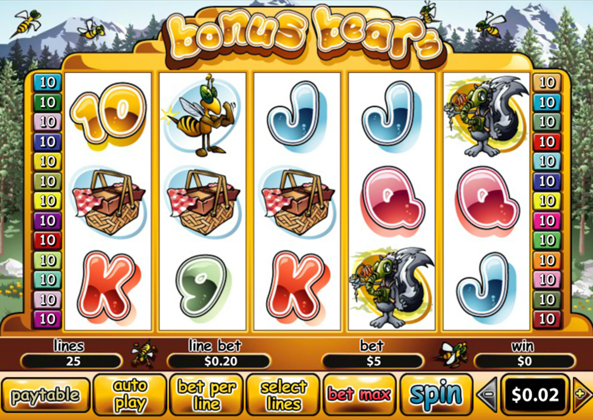 bonus-bears-สล็อตออนไลน์