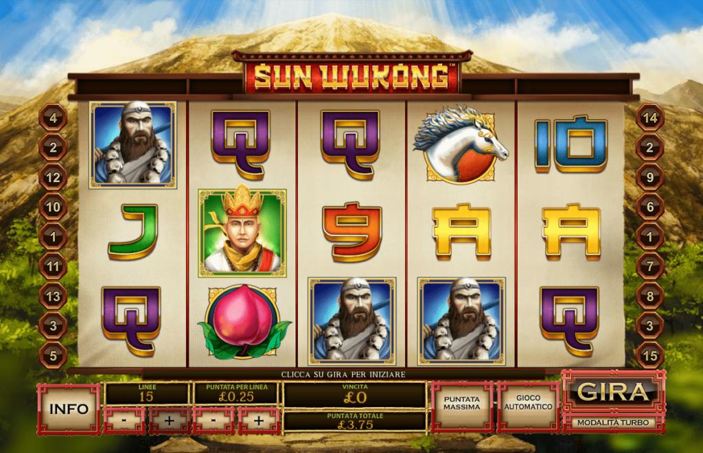สล็อต Sun Wukong