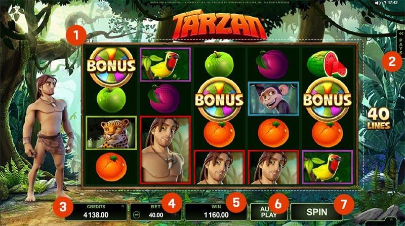 สล็อต Tarzan