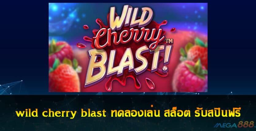 wild cherry blast